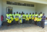 High Vis Jackets for the Bodaboda workshop